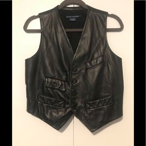 Ralph Lauren Genuine Leather Vest